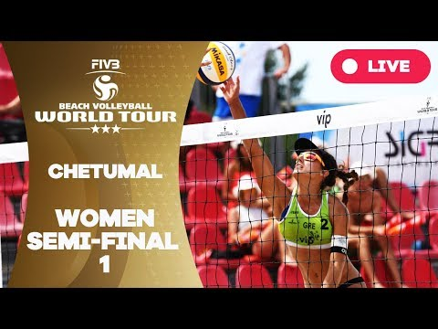 Chetumal 3-Star - 2018 FIVB Beach Volleyball World Tour - Women Semi Final 1