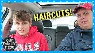 BOYS GOT THANKSGIVING HAIRCUTS