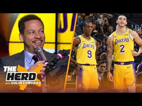 Chris Broussard says Lonzo should start over Rondo, Rockets 'bold' move for Butler | NBA | THE HERD