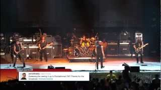 By request, Queensryche at Rocklahoma 2012 . Queensryche is: Michae...