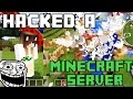 HACKING A MINECRAFT PE SERVER (Blockman Multiplayer for minecraft)