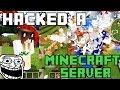 HACKING A MINECRAFT PE SERVER (Blockman Multiplayer for minecraft)