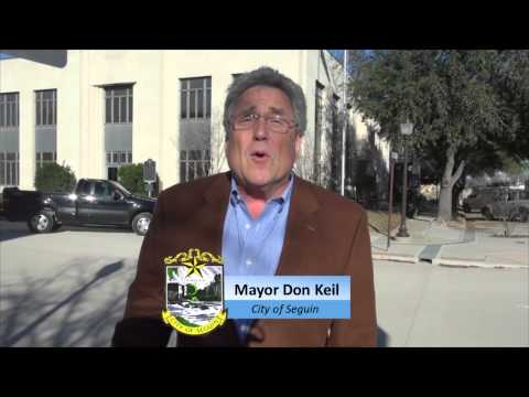 Mayor Don Keil Challenges the community to participate in the HEB Community Challenge