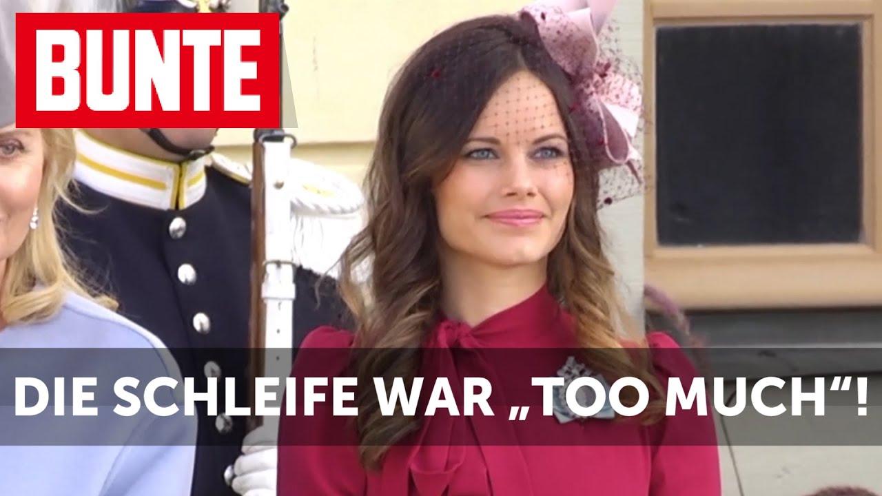 """Sofia von Schweden - dieses Accessoire war """"too much""""  - BUNTE TV"""