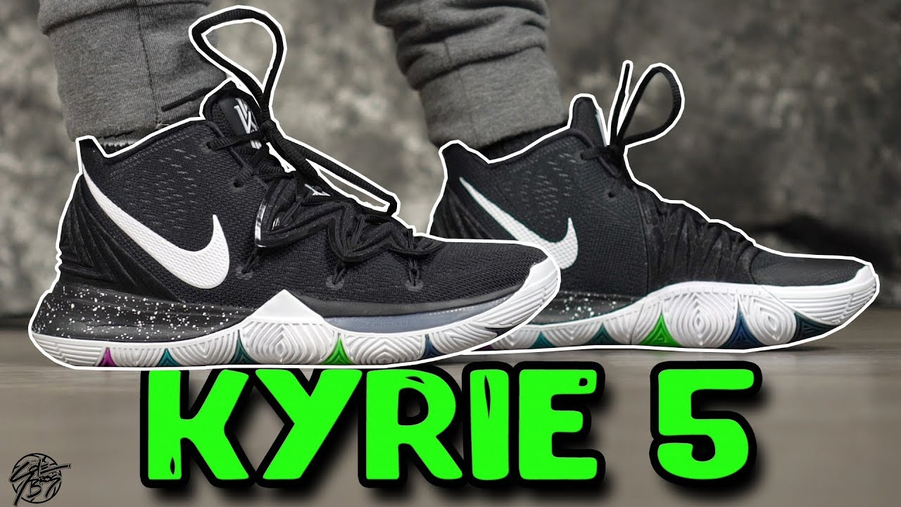 98d927f94b Nike Kyrie 5 Initial Review! How Does the Strap Work?? - YouTube