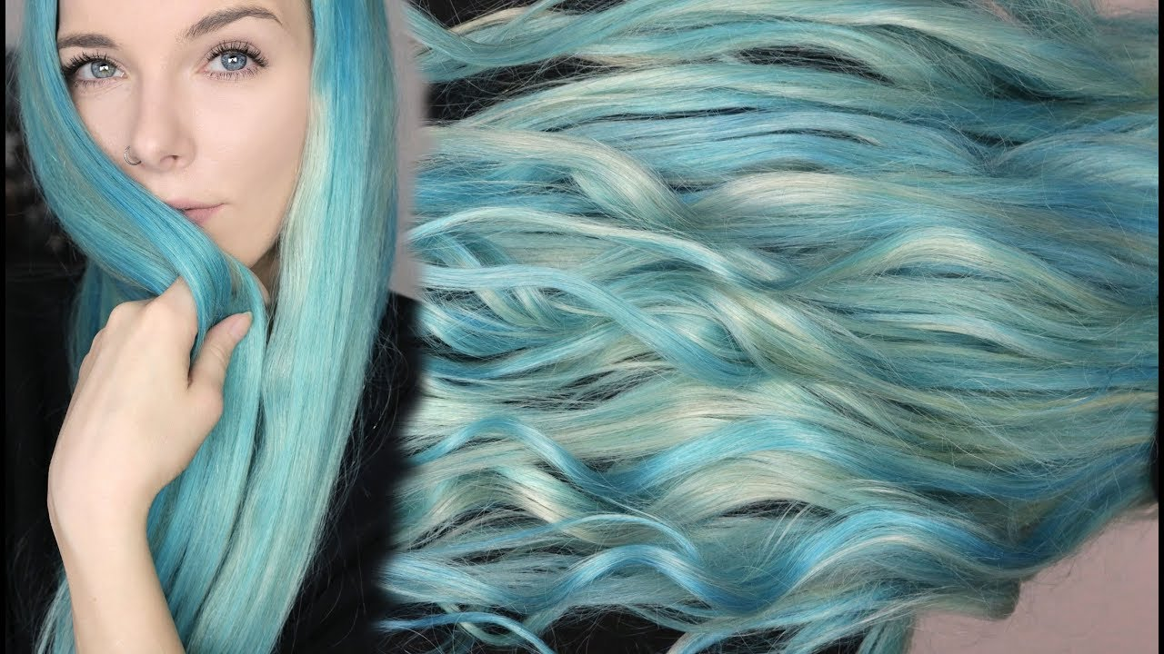 pastel ocean hair haare bunt t nen ohne sch den tutorial youtube. Black Bedroom Furniture Sets. Home Design Ideas