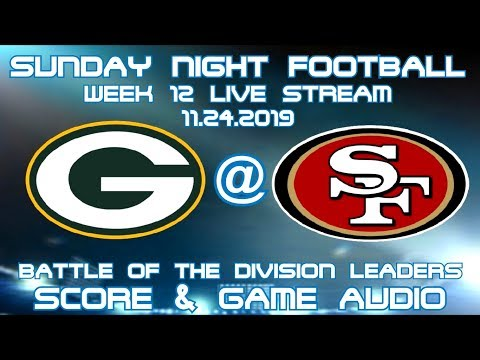GREEN BAY PACKERS @ SAN FRANCISCO 49ERS SNF WEEK 12 LIVE STREAM WATCH PARTY(GAME AUDIO ONLY)