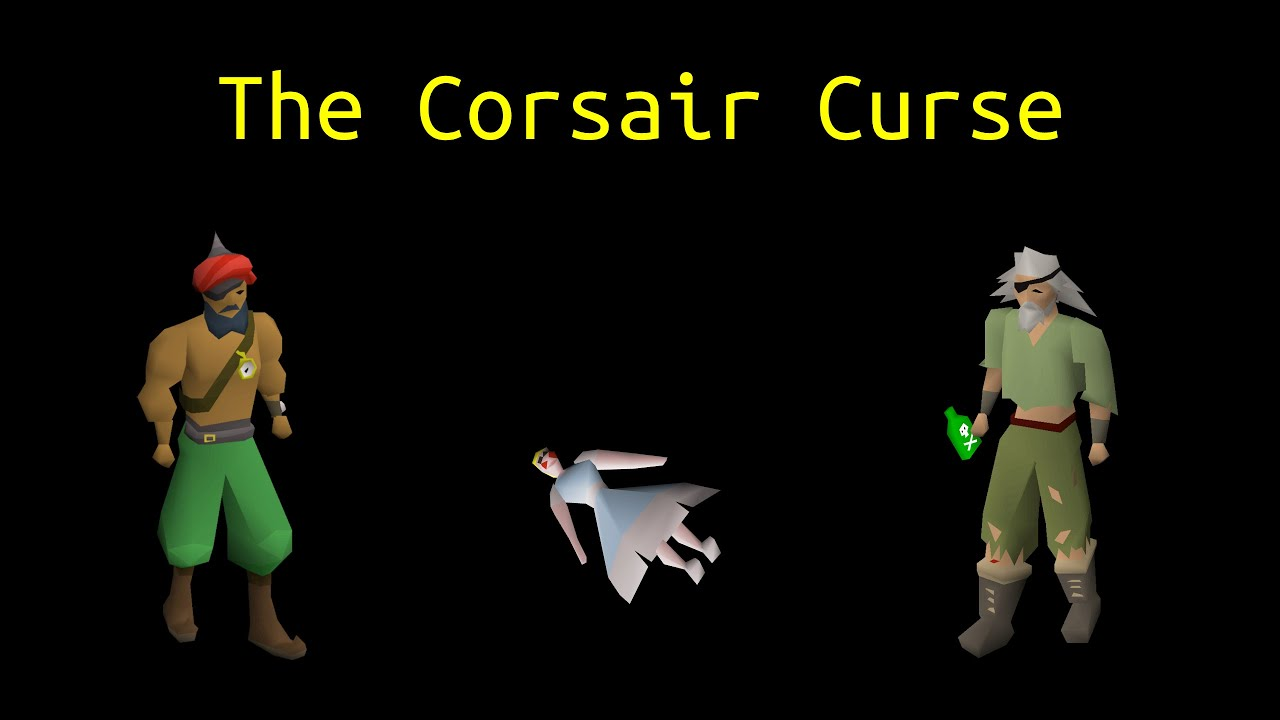 The Corsair Curse Ironman Quest Guide - OSRS