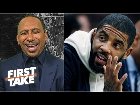 Stephen A. fires back at Kyrie Irving's media critiques | First Take