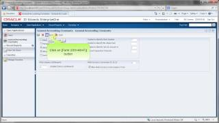 Accessing General Accounting Constants - JDE E1 91 - General Accounting