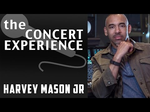 Harvey Mason Jr. Interview | AfterBuzz TV's The Concert Experience