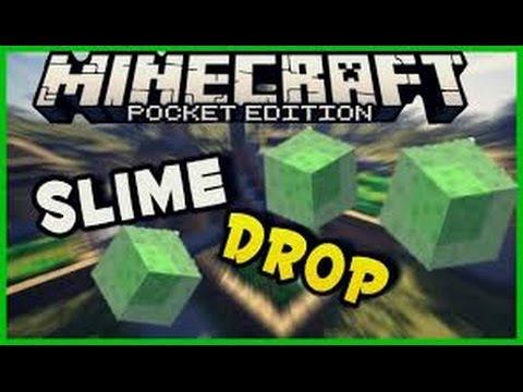 La Sfida Di JOHNYX! :D -Slime Drop Challenge -Minecraft PE 0.14.0