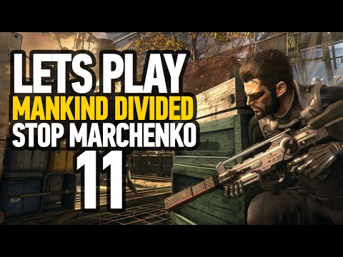 Deus Ex Mankind Divided Ending ''Securing The Convention Centre & How To Stop Marchenko'' (PS4)