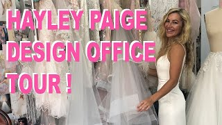 Hayley Paige Design Office Tour