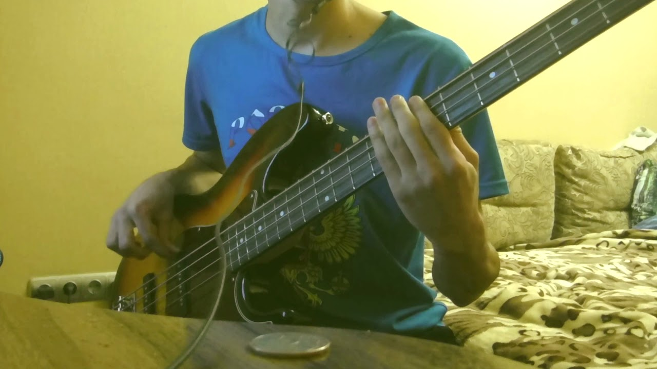 The Kooks Sofa Song Bass Solo Cover Youtube