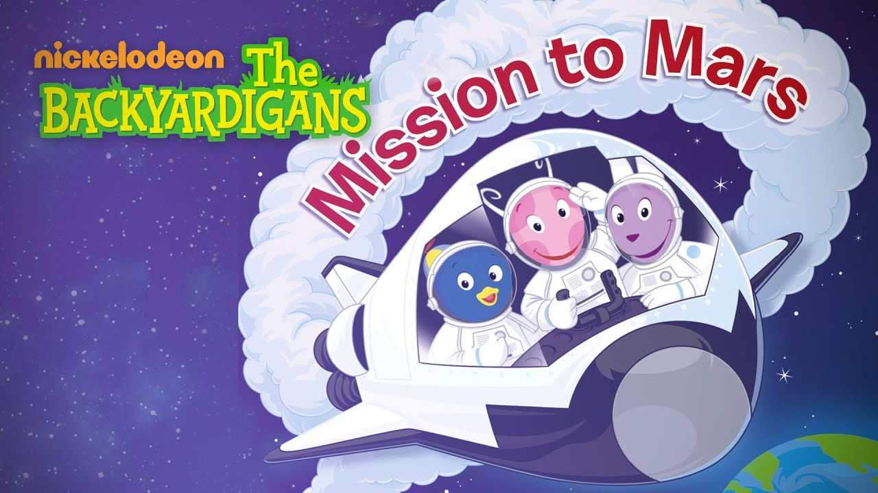 the backyardigans mission to mars book - photo #4