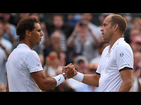 Wimbledon 2017: Rafael Nadal loses five-set epic on day seven