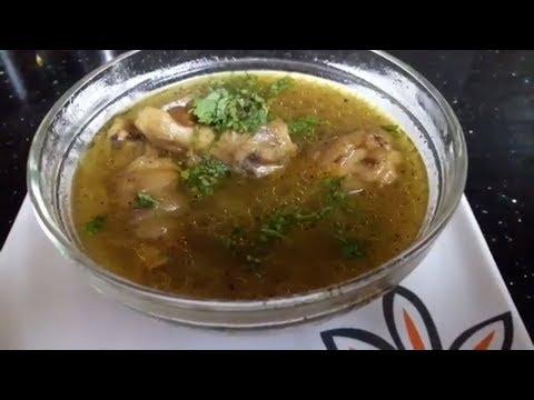 சுவையான ஆட்டுக்கால் சூப் செய்வது எப்படி? | How to make tasty Aatukaal Soup?