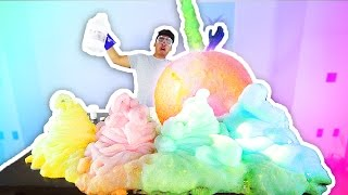 WUBBLE BUBBLE ELEPHANT TOOTHPASTE EXPERIMENT!