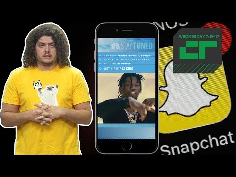 NBC Launches News Broadcast for Snapchat | Crunch Report