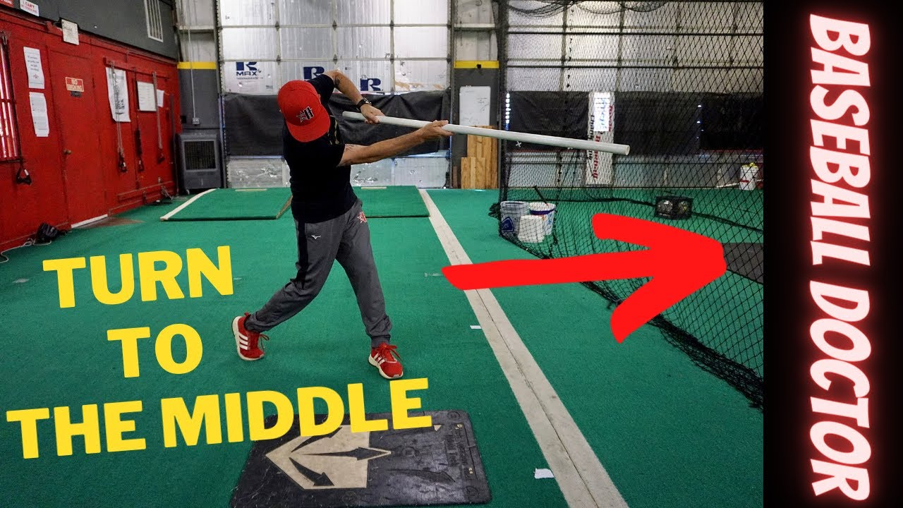 4 Hitting Drills to work on Staying to the Middle! Don't over-rotate or pull off using these drills!