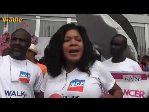 Toyin Aimaku, Pawpaw, Kebbi Gov's wife Lead Cancer Walk in Abuja