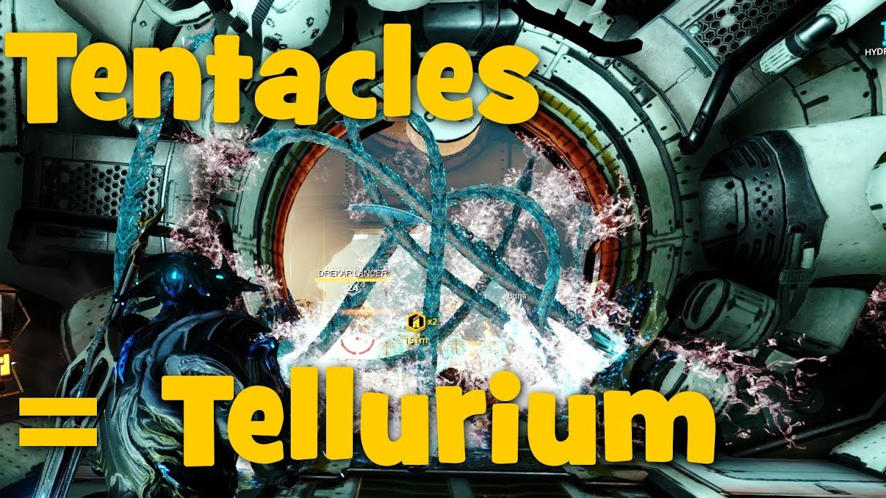Warframe Tellurium Not Dropping – I just strapped on a resource booster and drop chance booster and went to ophelia with a plastics farm.