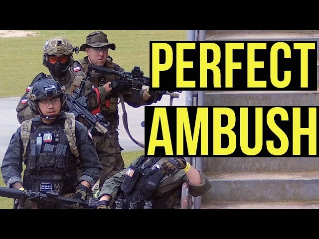 Perfect Ambush | Desert Fox Events: Southern Strike (Elite Force VFC Avalon Enola Gaye EG67)