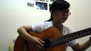 Ngõ vắng xôn xao - Quang Huy - Ca Dao guitar cover