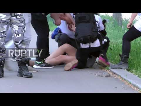 France: Yellow Vest protesters in Lyon feel  force of the police