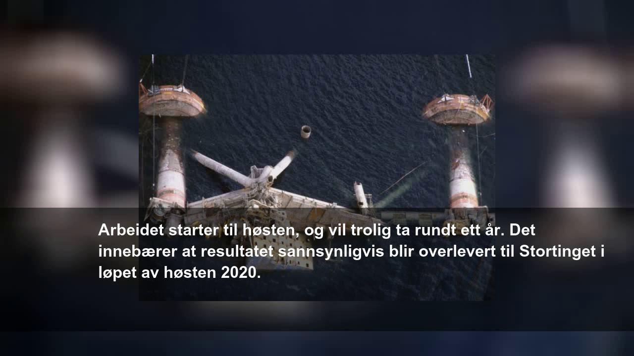 Alexander Kielland Ulykken Kommer Med Nye Svar Youtube