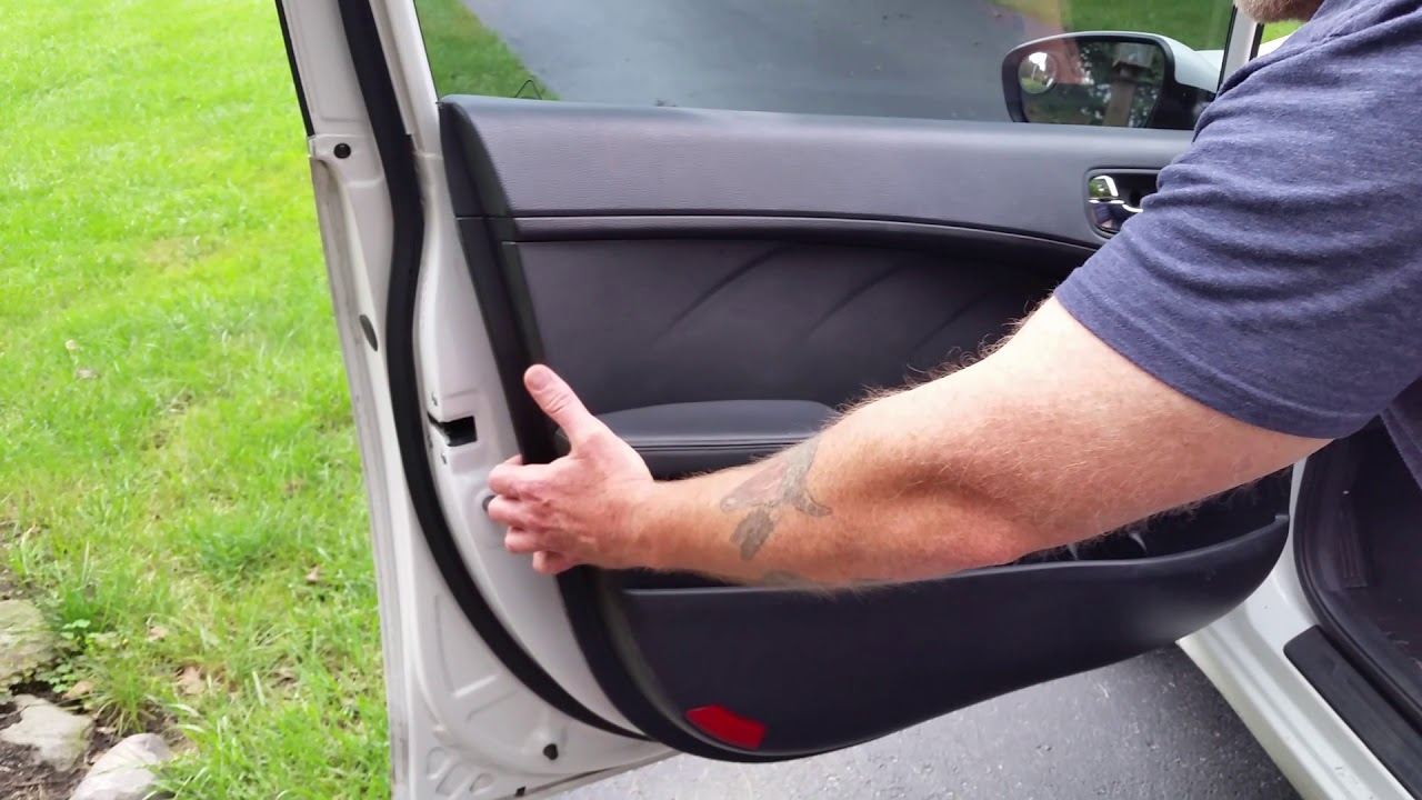 Kia Forte Door Panel Removal Access 2014 Up Window Switch Youtube