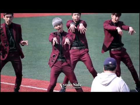 [Fancam] 130421 VIXX - On and On @ Nexon Hero Baseball Opening Ceremoy (Nyour Side)
