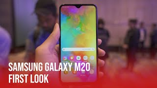 Samsung Galaxy M20 | First Look