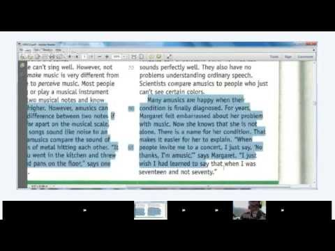 High Intermediate English - Lesson 15 - Reading and Vocabulary: Fluency Practice Part 1/2: Can't Nam