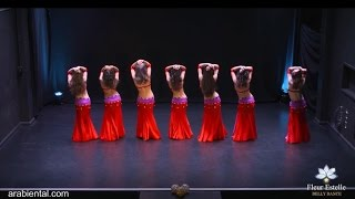 best arabic  Belly Dance 2016 Group Performance with cheb mami