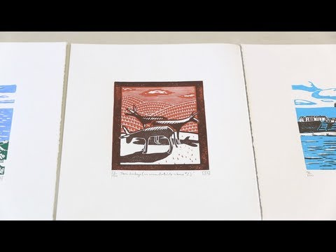 Shortcuts - an introduction to linocut printmaking with James Green
