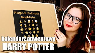 Otwieram KALENDARZ ADWENTOWY HARRY POTTER Magical Suitcase