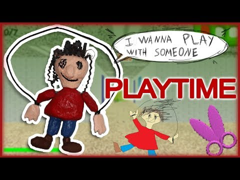 How to Make: Playtime Marionette (Baldi's Basics)