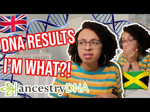 WHAT AM I?! | Reading My DNA Results... | aliyah simone