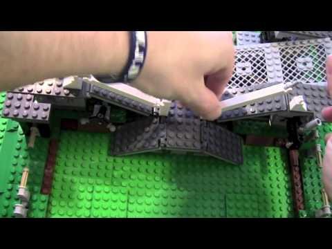 Building Lego Ferris Wheel 10247 Part 5