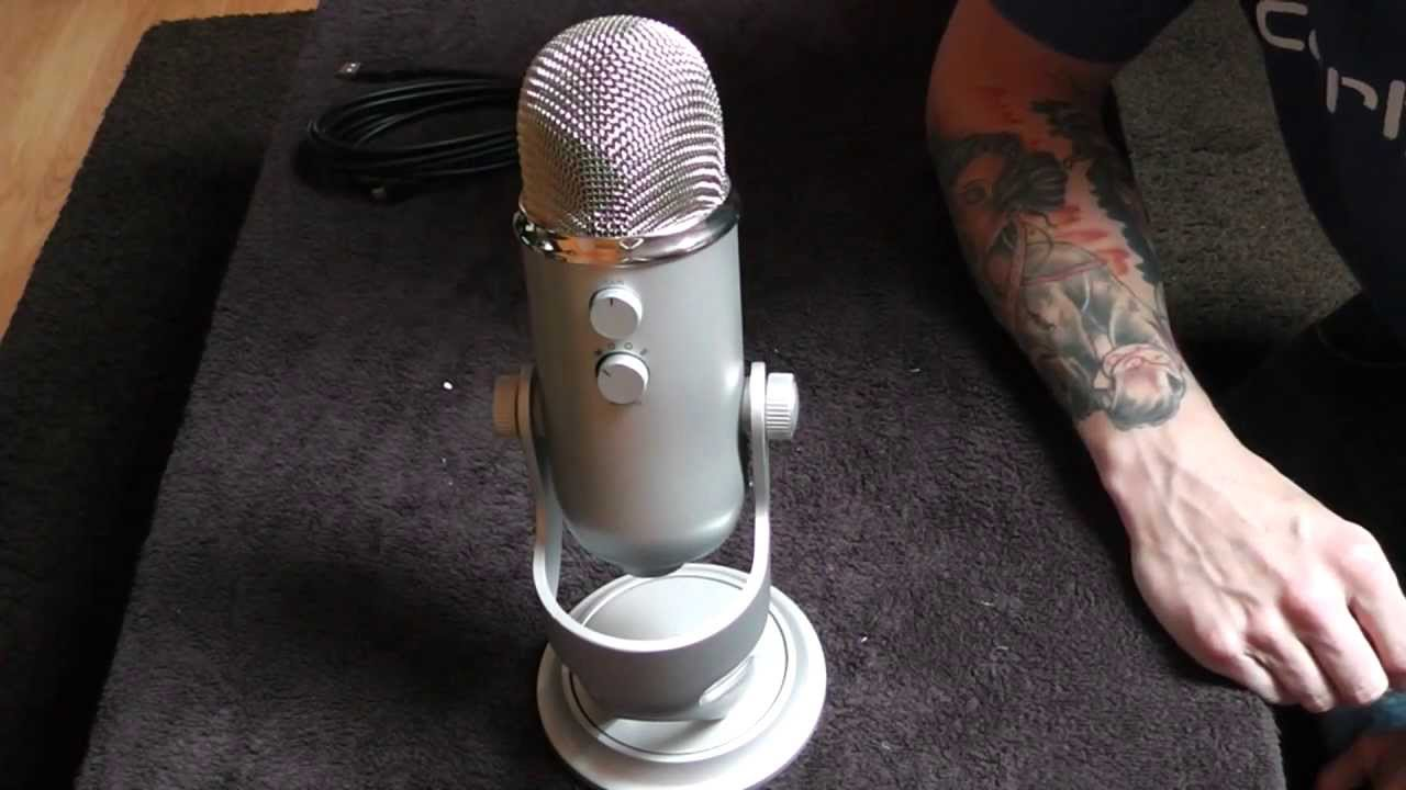 how to get more base for blue yeti