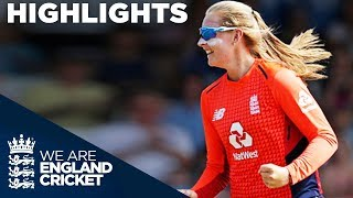 Ecclestone Spins England To Victory | England Women v New Zealand IT20 2018 - Highlights