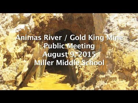 Animas River/Gold King Mine EPA Public Meeting August 9, 2015