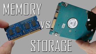Memory vs Storage - What's the Difference?