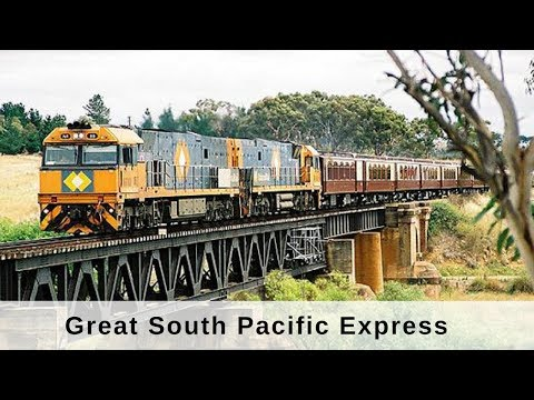 World Class Trains - Great South Pacific Express Doku Deutsch