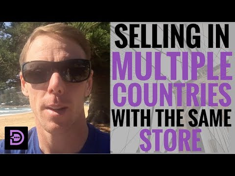 (Day 53) Selling In Multiple Countries With The Same Store - Dropship Social