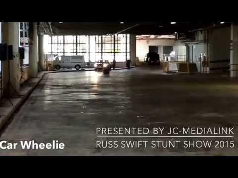 Russ Swift Stunt Show @ The Singapore Motorshow 2015 (15-18 Jan 2015 @ Suntec Singapore)