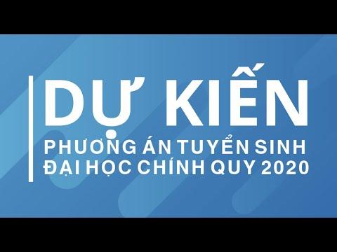 NGUYÊN TẮC XÉT TUYỂN VÀO ĐẠI HỌC THƯƠNG MẠI NĂM 2020 (DỰ KIẾN)