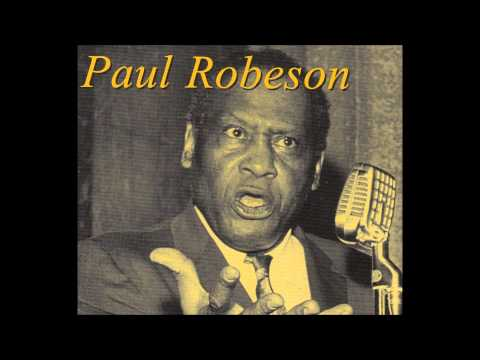 Paul Robeson Welsh TransAtlantic Concert